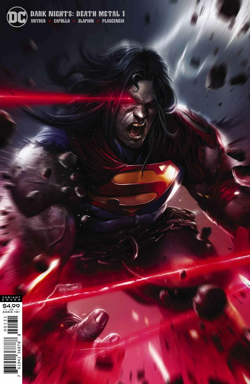 DARK NIGHTS DEATH METAL #1 (OF 6) MATTINA SUPERMAN VARIANT EDITION