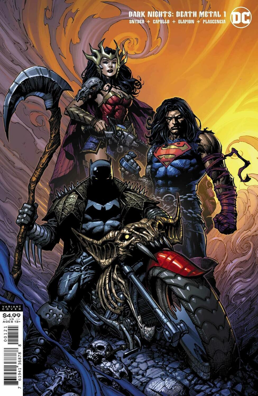 DARK NIGHTS DEATH METAL #1 (OF 6) DAVID FINCH BATMAN VARIANT  EDITION