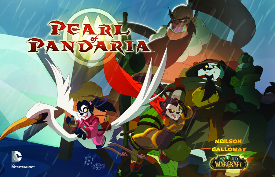 WORLD OF WARCRAFT PEARL OF PANDARIA TP