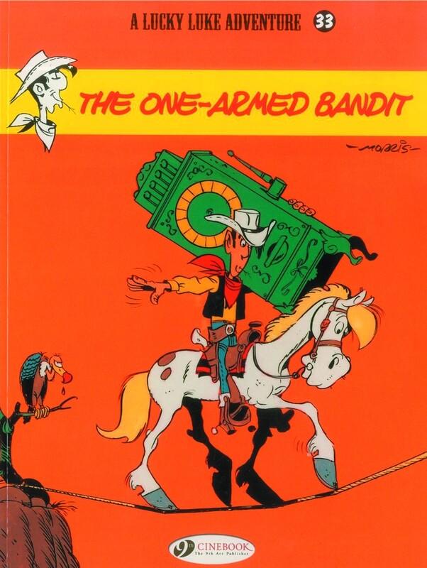 LUCKY LUKE TP VOL 33 ONE ARMED BANDIT