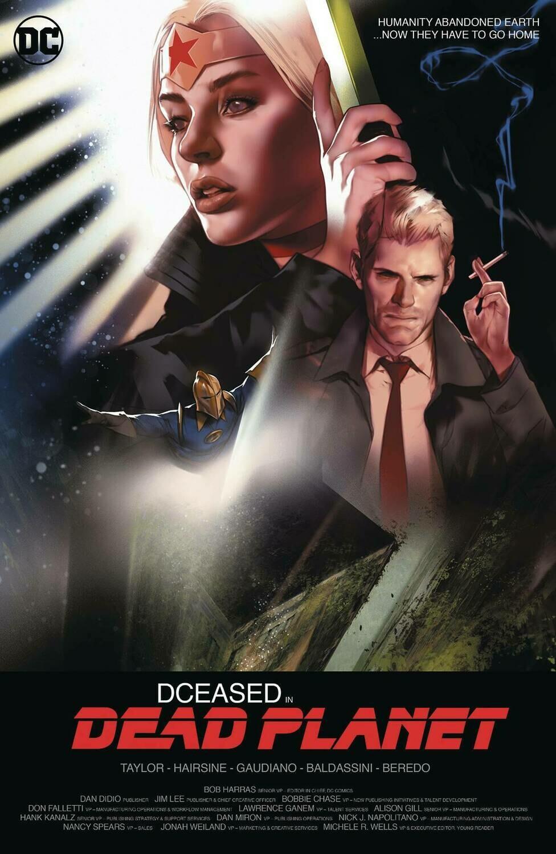 DCEASED DEAD PLANET #1 (OF 6) CARD STOCK BEN OLIVER MOVIE VARIANT