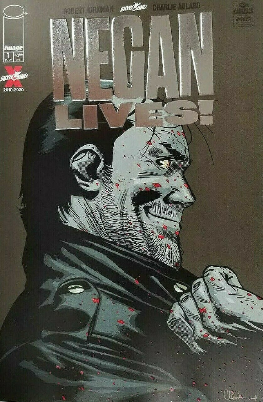 WALKING DEAD NEGAN LIVES #1 (ONE SHOT) 2 PER STORE SILVER FOIL VARIANT