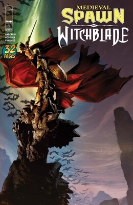 Medieval Spawn and Witchblade (2018 Image) 1--4