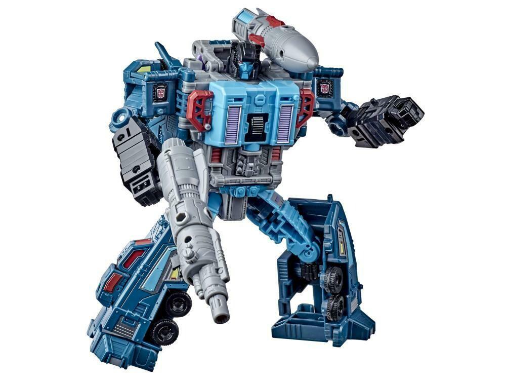 Transformers War for Cybertron: Earthrise Leader Doubledealer