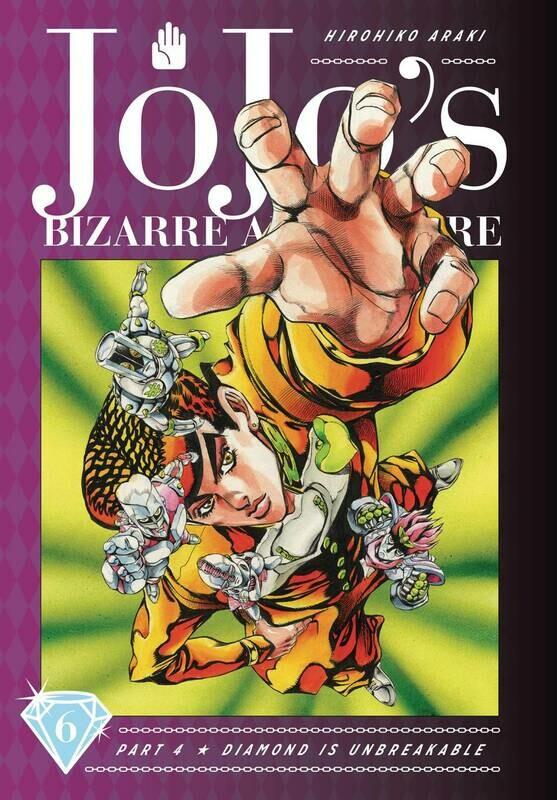 JOJOS BIZARRE ADV 4 DIAMOND IS UNBREAKABLE HC VOL 06