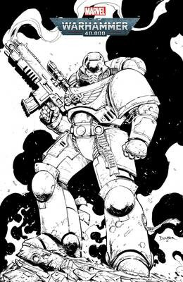 WARHAMMER 40K MARNEUS CALGAR #1 (OF 5) COLOR YOUR OWN VARIANT
