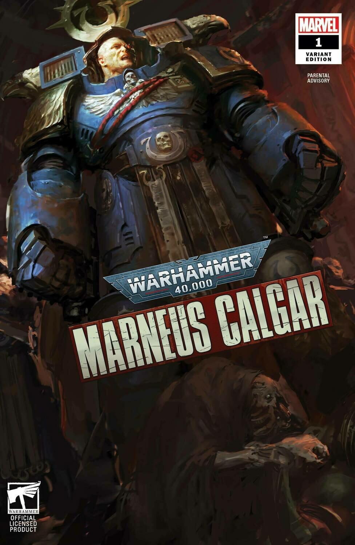 WARHAMMER 40K MARNEUS CALGAR #1 (OF 5) GAMES WORKSHOP VARIANT