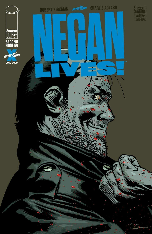 NEGAN LIVES #1 2ND PTG