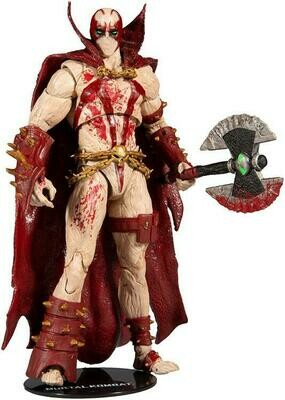 Mortal Kombat XI Spawn (Blood Feud Hunter Ver.) Action Figure