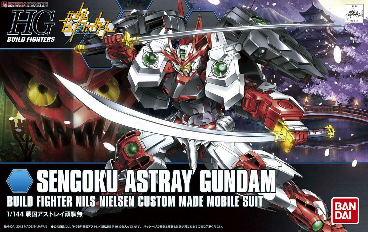 Sengoku Astray Gundam (HGBF) 1/144   Build Fighters 007