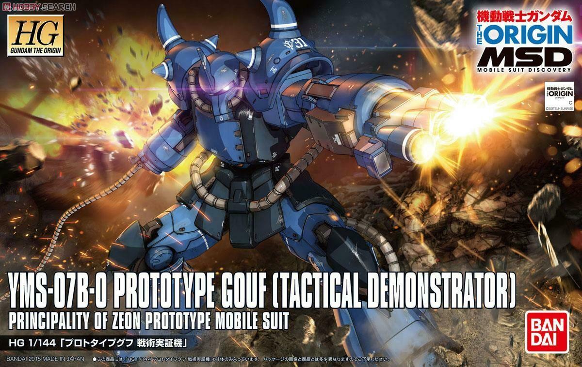 Prototype Gouf (HG) 1/144 Gundam The Origin  004