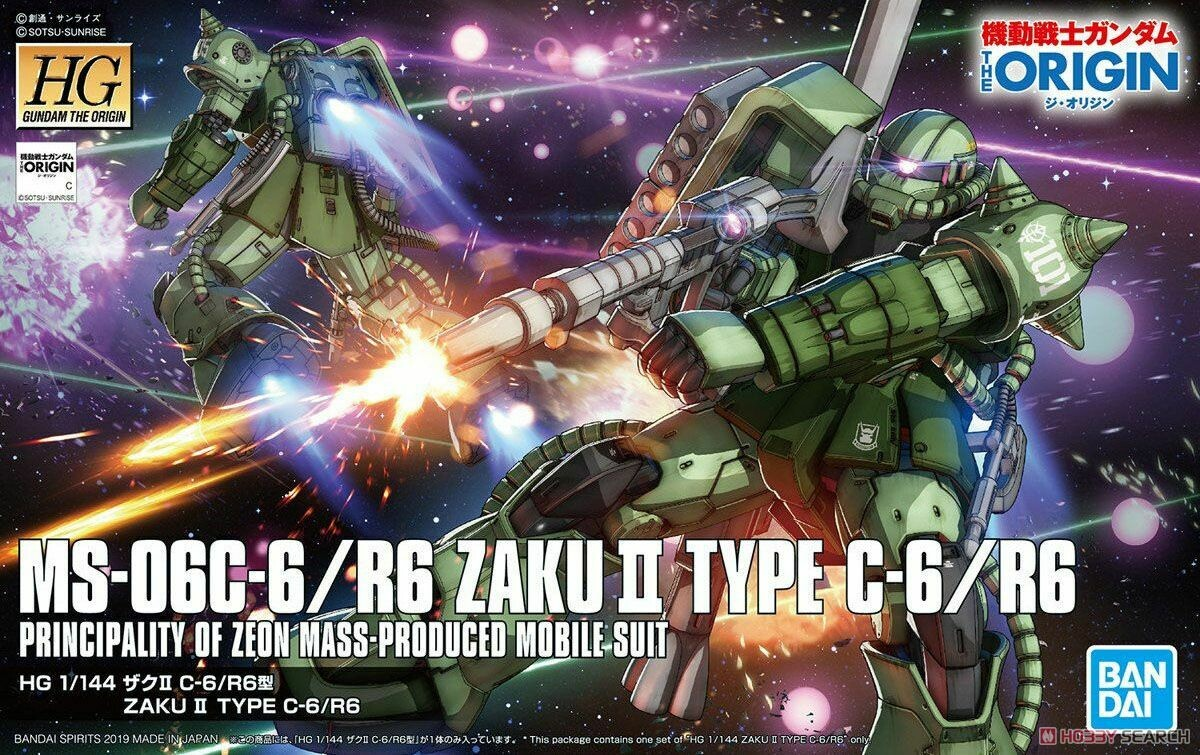Zaku II Type C-6/R6 (HG) 1/144  Gundam The Origin  025