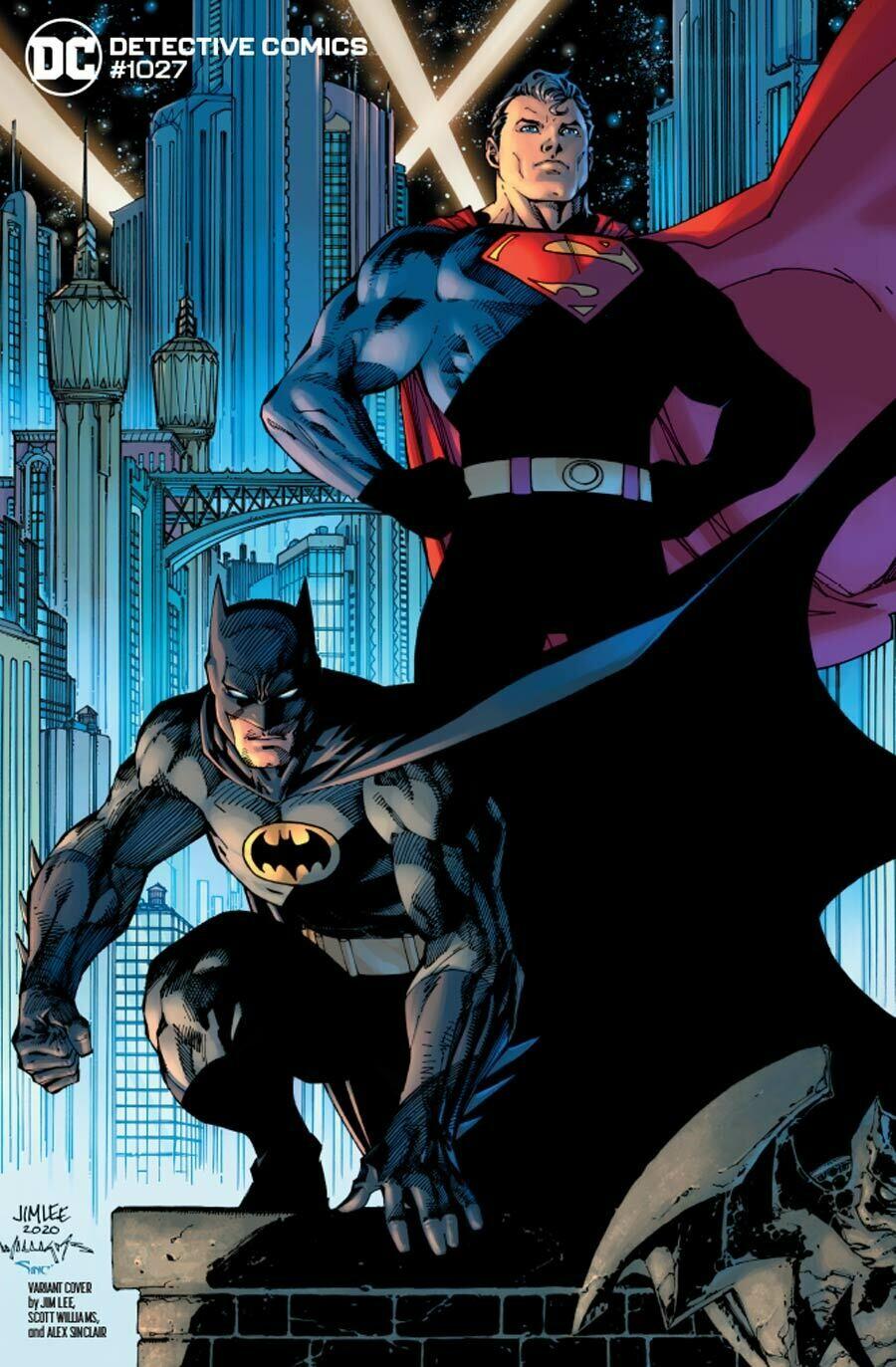 DETECTIVE COMICS #1027 JOKER WAR Jim Lee & Scott Williams Batman & Superman VARIANT EDITION