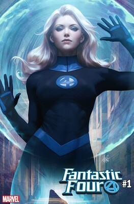 FANTASTIC FOUR #1 ARTGERM  VARIANTS  SET OF 4