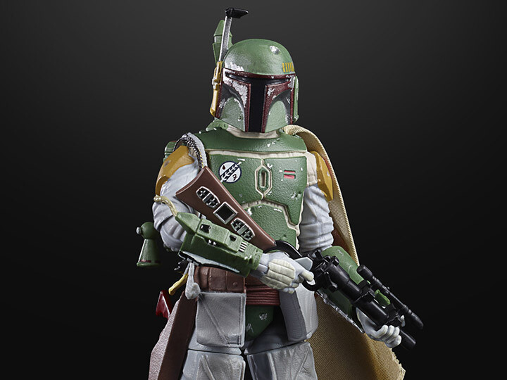 "Star Wars 40th Anniversary The Black Series 6"" Boba Fett (Empire Strikes Back) Figure"