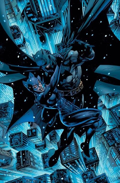 BATMAN CATWOMAN #1 JIM LEE VARIANT