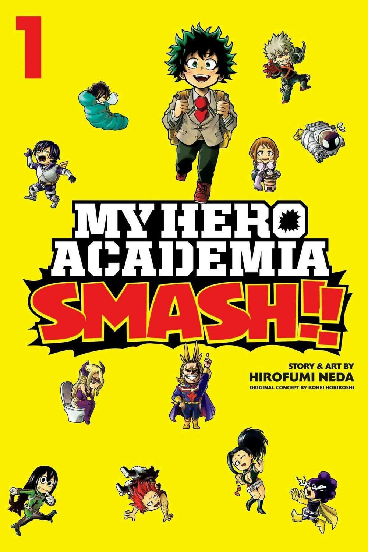 MY HERO ACADEMIA SMASH VOL 01