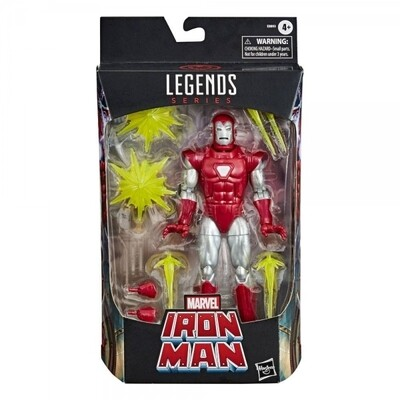 IRON MAN SILVER CENTURION MARVEL LEGENDS