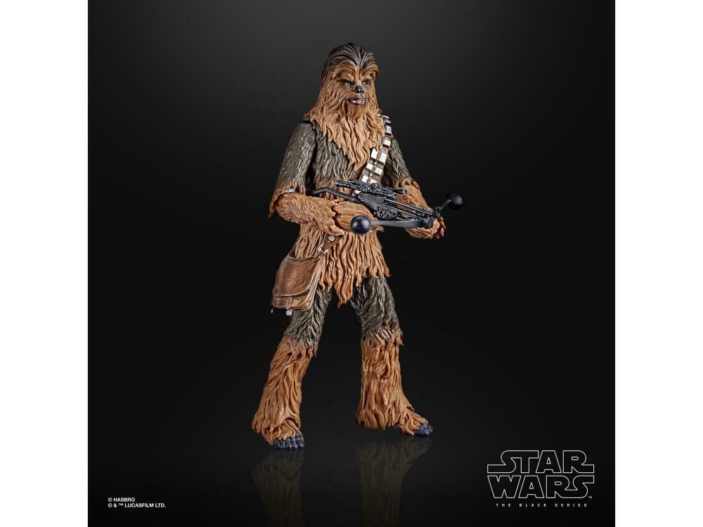 "Star Wars 40th Anniversary The Black Series 6"" Chewbacca (Empire Strikes Back) Figure"