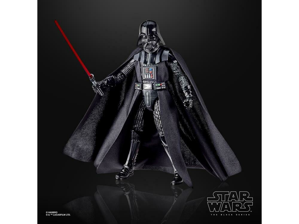 "Star Wars 40th Anniversary The Black Series 6"" Darth Vader (Empire Strikes Back) Figure"