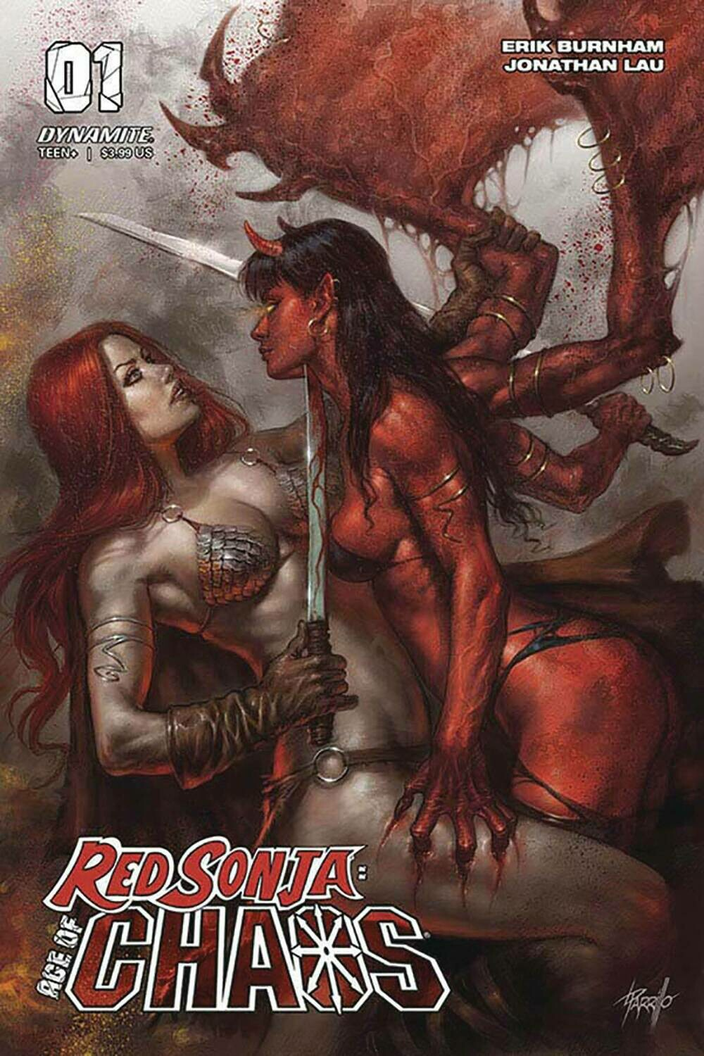RED SONJA AGE OF CHAOS #1 CVR A PARRILLO