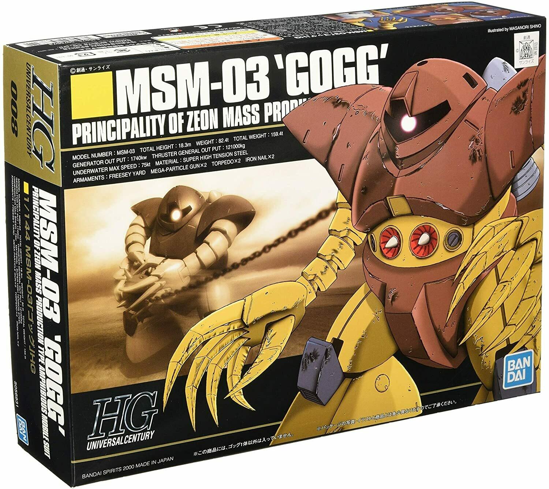 Gundam: High Grade - Gogg 1:144 Model Kit