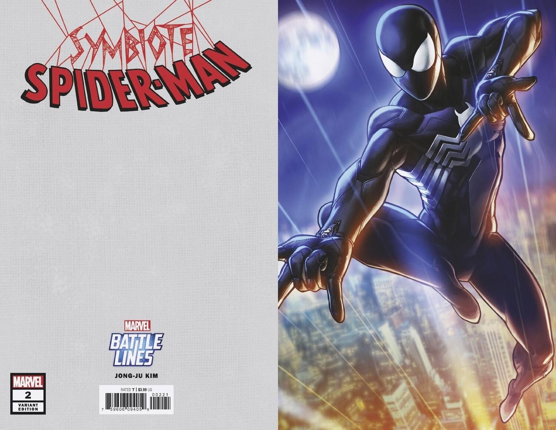 SYMBIOTE SPIDERMAN #2  JONG-JU KIM BATTLE LINES VARIANT
