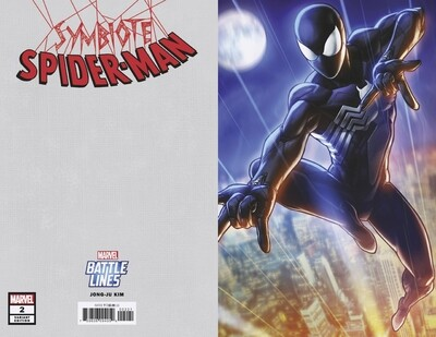 SYMBIOTE SPIDERMAN #2  JONG-JU KIM BATTLE LINES VARIANT