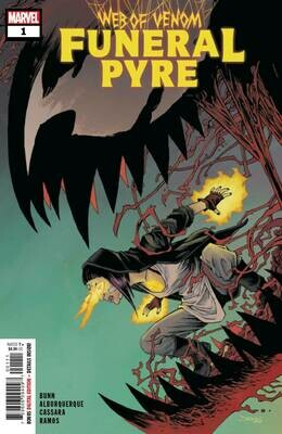 WEB OF VENOM #1 FUNERAL PYRE