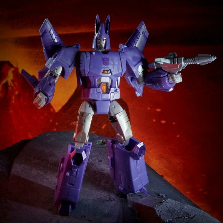 Transformers War for Cybertron: Kingdom Voyager Cyclonus
