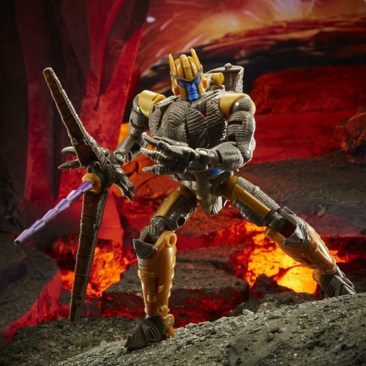Transformers War for Cybertron: Kingdom Voyager Dinobot