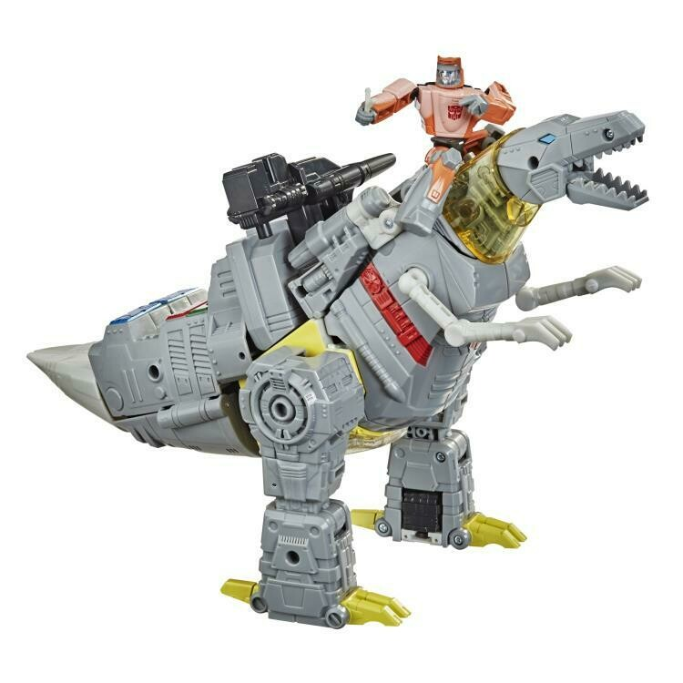 Transformers Studio Series 86-06 Leader Grimlock & Wheelie