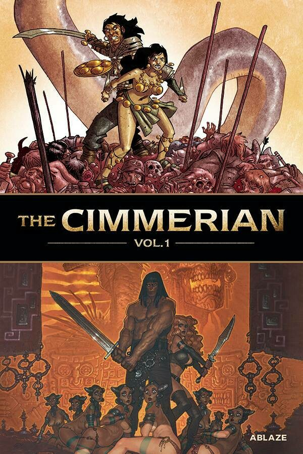 CIMMERIAN HC VOL 01 QUEEN O/T BLACK COAST