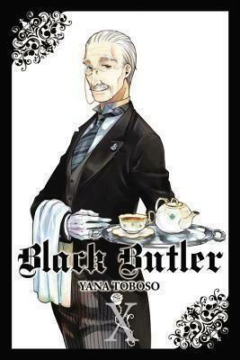 BLACK BUTLER  VOL 10