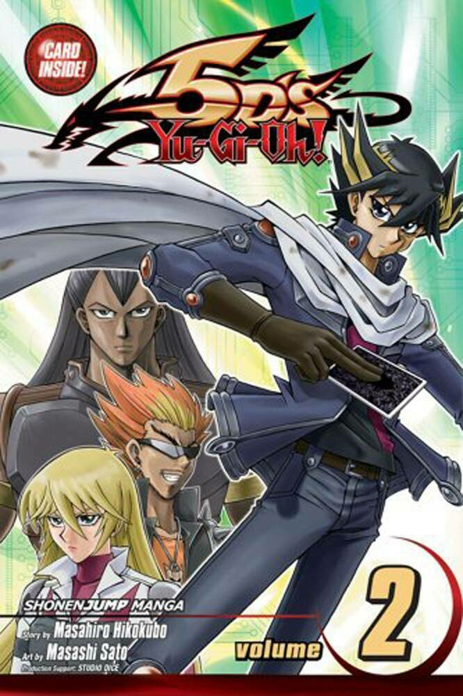 YU GI OH 5DS  VOL 02 & CATAPULT WARRIOR CARD