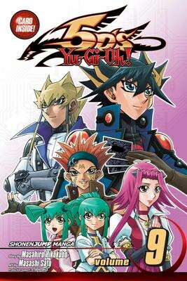 YU GI OH 5DS  VOL 09 & Stardust Chronicle Spark Dragon card