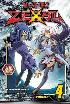 YU GI OH ZEXAL  VOL 04 & Number 47: Nightmare Shark card