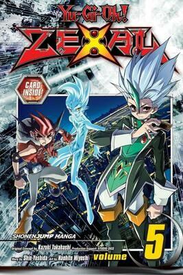 YU GI OH ZEXAL  VOL 05 & Number 72: Shogi Rook card
