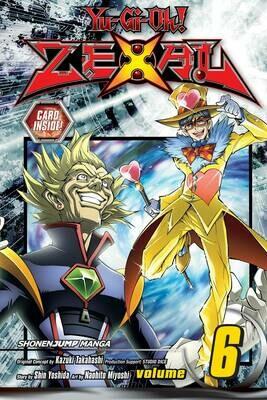 YU GI OH ZEXAL   VOL 06 & Number 52: Diamond Crab King card