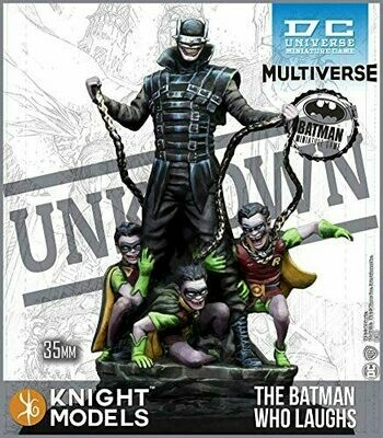 THE BATMAN WHO LAUGHS KNIGHT MODELS