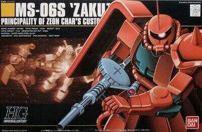 HGUC MS-06S Char`s Zaku II