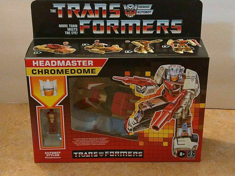 Transformers Generations Retro Headmaster Chromedome