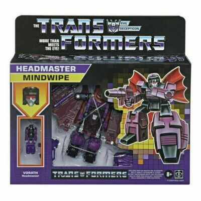 Transformers Generations Retro Headmaster Mindwipe Action Figure