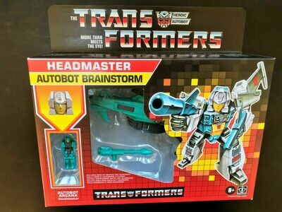Transformers Generations Retro Headmaster Autobot Brainstorm