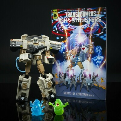 Transformers X Ghostbusters Afterlife Ectotron