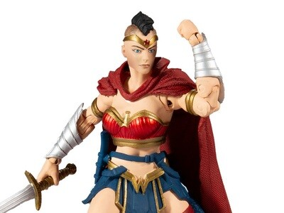 Last Knight on Earth DC Multiverse Wonder Woman (Collect to Build: Bane)