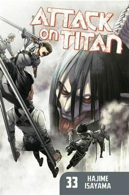 ATTACK ON TITAN  VOL 33