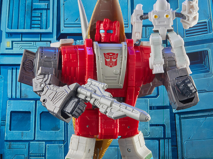 Transformers Studio Series 86-07 Leader Dinobot Slug & Daniel Witwicky