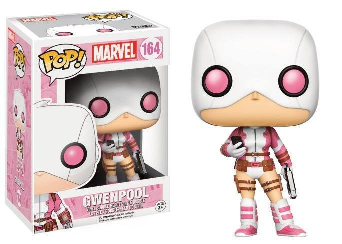 Pop! Marvel: Gwenpool With Gun And Phone LIMITED EDITION