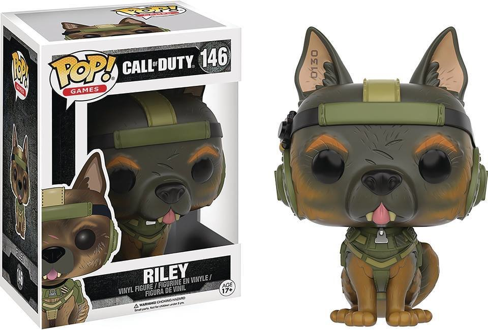 POP CALL OF DUTY RILEY VINYL FIGURE